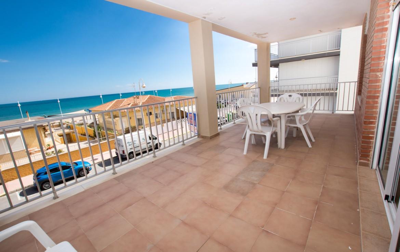 apartamento en la playa de Guardamar