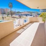 Apartamento con gran terraza en la playa de Guardamar del Segura